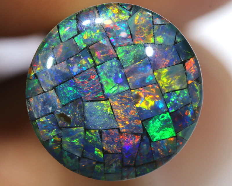3.80 CTS - A GRADE  QUALITY MOSAIC TRIPLET  LO-5805