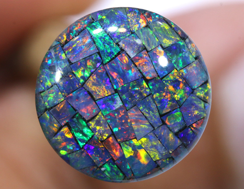 3.80 CTS - A GRADE  QUALITY MOSAIC TRIPLET  LO-5806