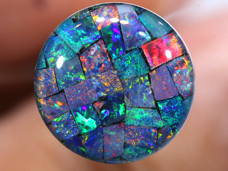 3.80 CTS - A GRADE  QUALITY MOSAIC TRIPLET  LO-5807