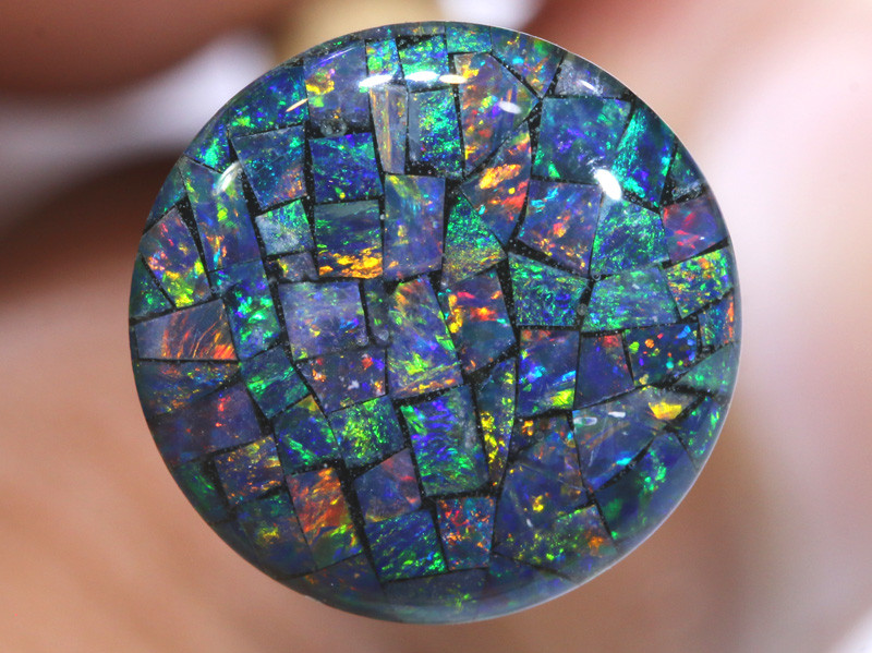 3.80 CTS - A GRADE  QUALITY MOSAIC TRIPLET  LO-5809