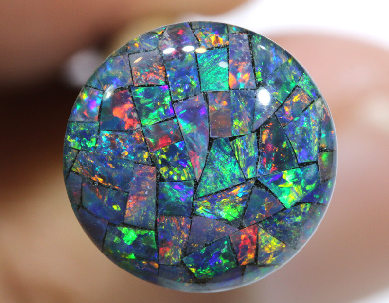 3.80 CTS - A GRADE  QUALITY MOSAIC TRIPLET  LO-5811
