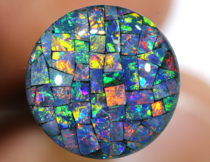 3.80 CTS - A GRADE  QUALITY MOSAIC TRIPLET  LO-5814
