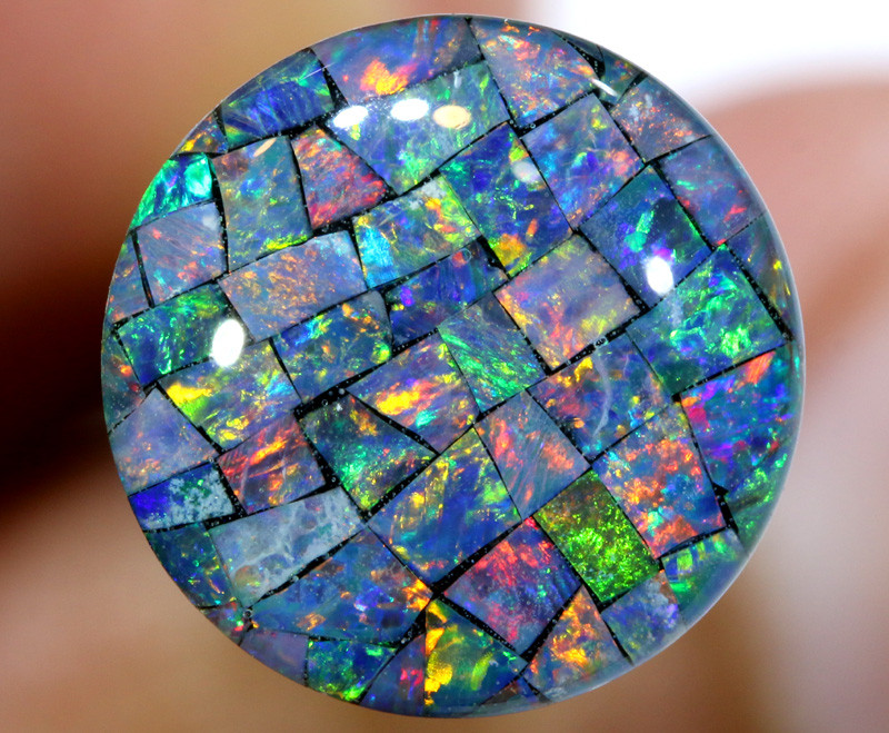 3.80 CTS - A GRADE  QUALITY MOSAIC TRIPLET  LO-5816