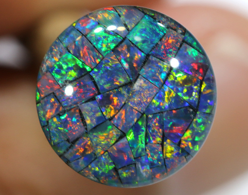 3.80 CTS - A GRADE  QUALITY MOSAIC TRIPLET  LO-5819