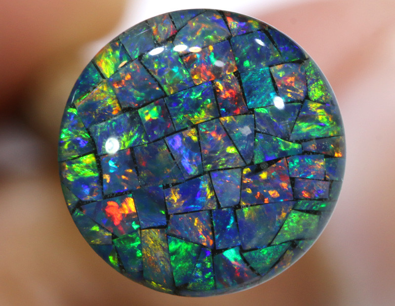 3.80 CTS - A GRADE  QUALITY MOSAIC TRIPLET  LO-5821