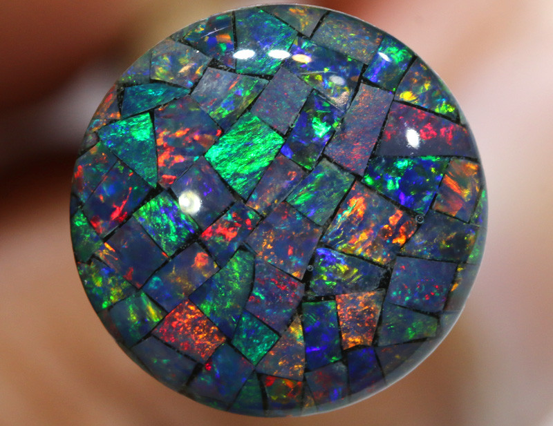 3.80 CTS - A GRADE  QUALITY MOSAIC TRIPLET  LO-5822