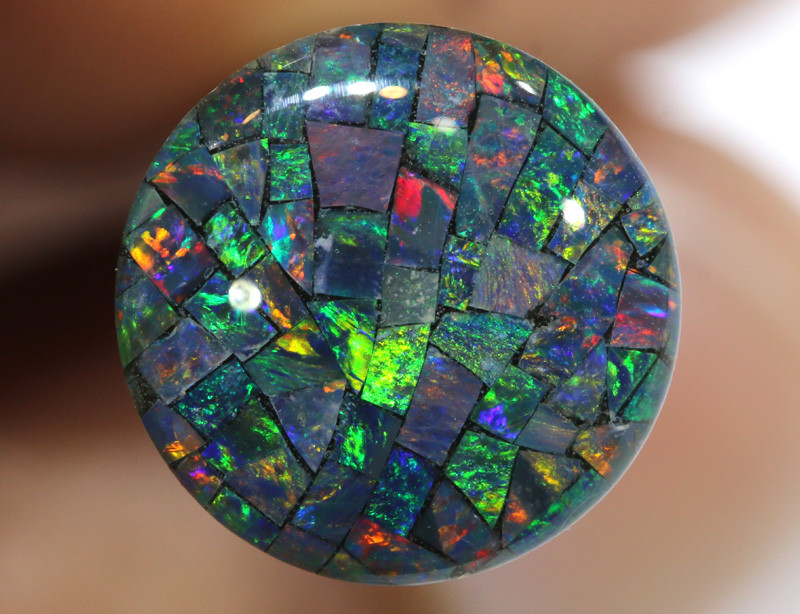 3.80 CTS - A GRADE  QUALITY MOSAIC TRIPLET  LO-5823