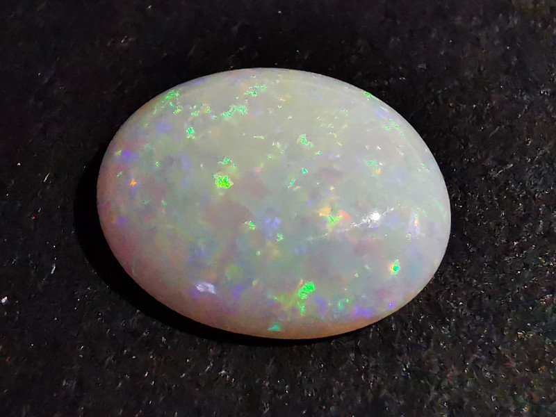 Beautiful Solid White Crystal Opal - Coober Pedy Australia - 2.7 Cts