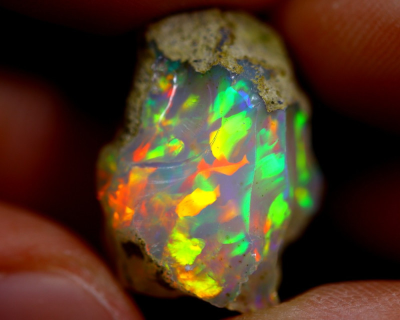 18cts Ethiopian Welo Rough Opal / WR638