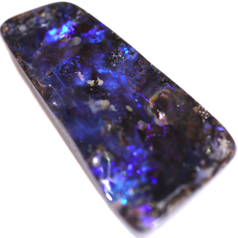 $4 PER CARAT  62.53 CTS BOULDER OPAL-WELL POLISHED [BMA9260]