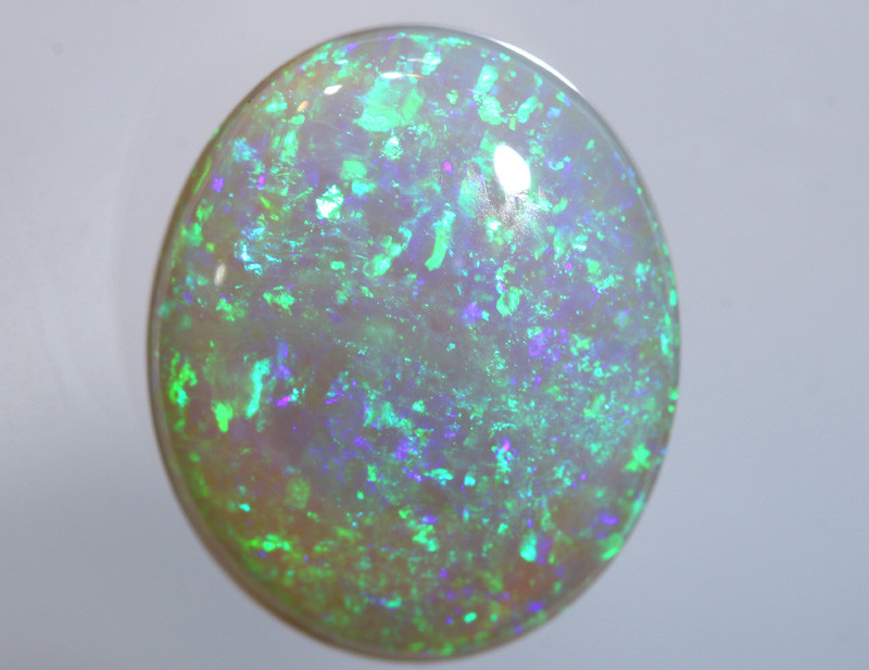 N5- 4.45  CTS - DARK  OPAL POLISHED STONE L. RIDGE  TBO-A344