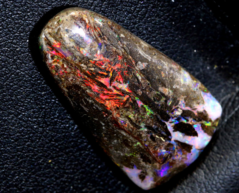 12.75 CTS BOULDER OPAL WOOD REPLACEMENT NC-7100
