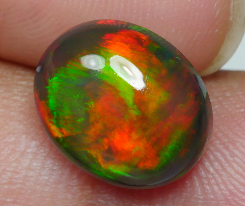 2.80 CRT BEAUTY SMOKED BROAD FLASH PLAY COLOR WELO OPAL-