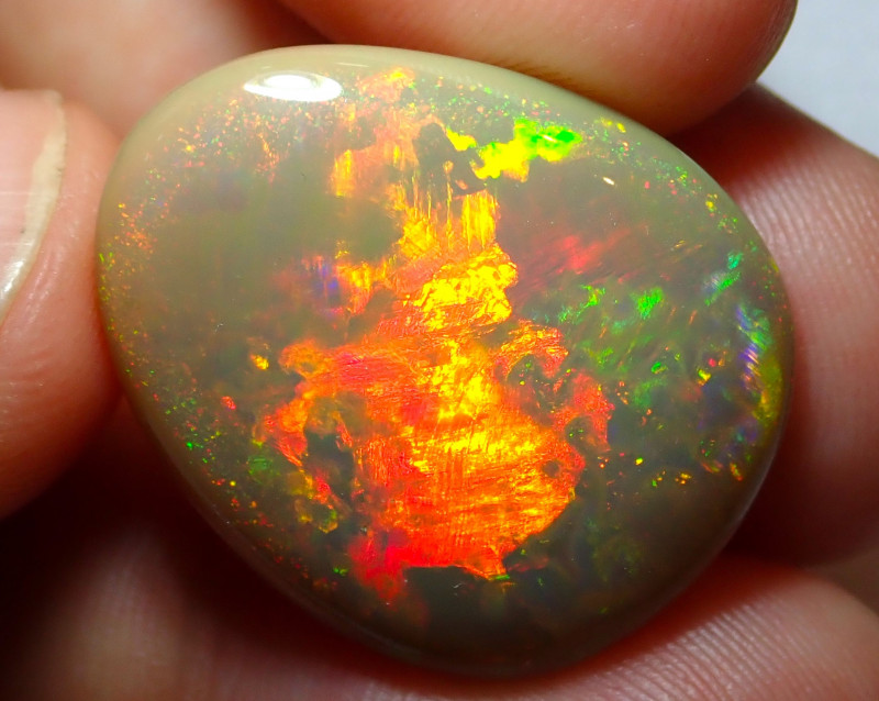 17.13ct. Blazing Welo Solid Opal