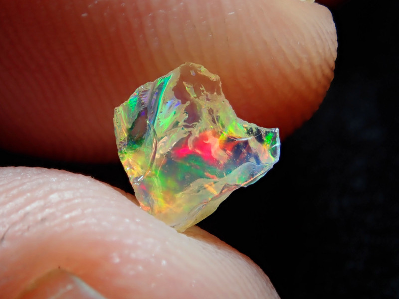 0.59ct -#A4 - Gamble Rough Mexican Opal