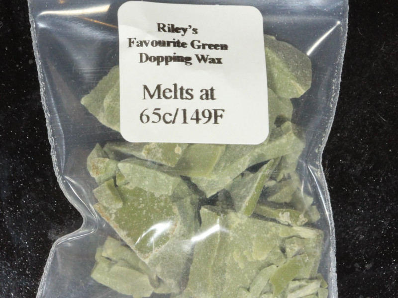 Green Dopping Wax- Riley's Favourite  65C/149F [25477]