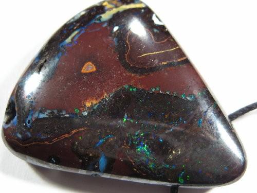 YOWAHOPALS*76.45ct Matrix Opal PENDANT - yowah - qld....