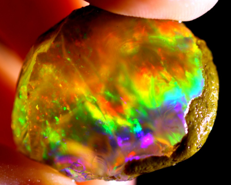44cts Ethiopian Crystal Rough Specimen Rough / CR499