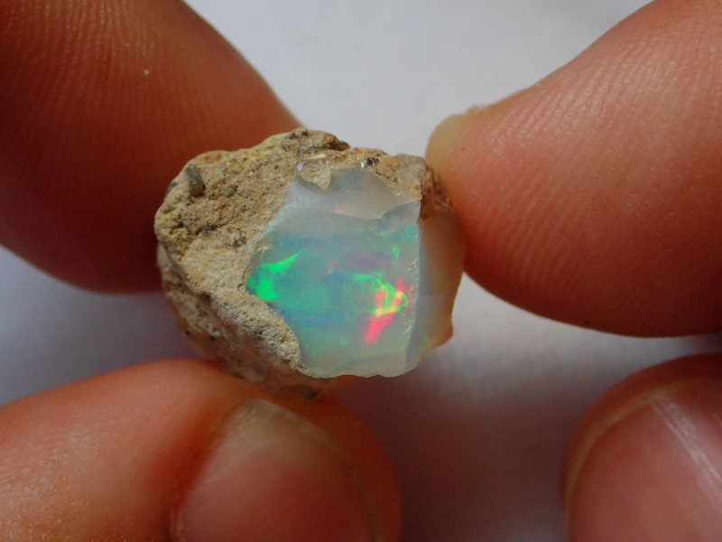 12.99ct -#A2 - Gamble Rough from Wello Dalanta