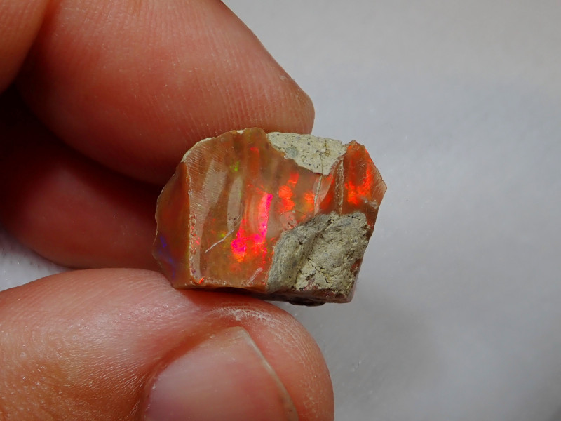 16.36ct -#A2 - Honeycomb Gamble Rough from Wello Dalanta