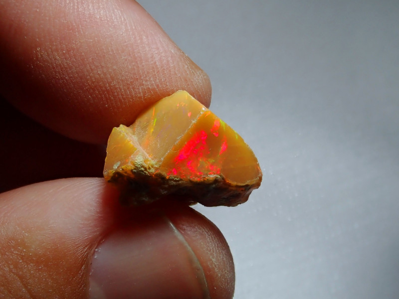 8.26ct -#A2 - Gamble Rough from Wello Dalanta