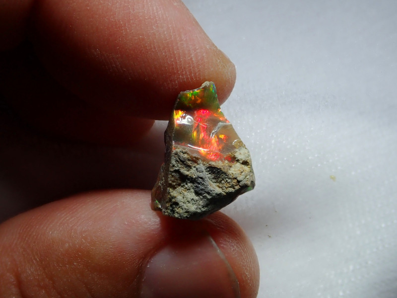 5.43ct -#A2 - Honeycomb Gamble Rough from Wello Dalanta