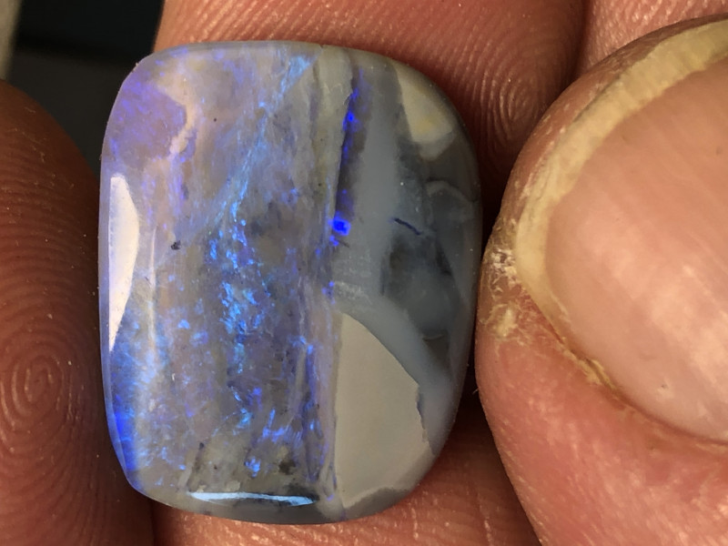 7ct Lightning Ridge picture opal