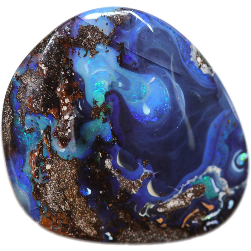 $2.00 PER CARAT BOULDER OPAL-WELL POLISHED [FJP3140]