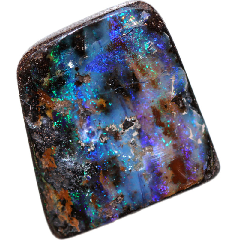 $2.00 PER CARAT BOULDER OPAL-WELL POLISHED [FJP3139]