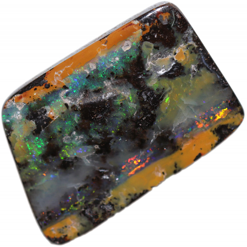 $2.00 PER CARAT BOULDER OPAL-WELL POLISHED [FJP3138]