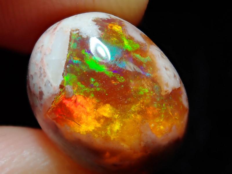 6.68ct Mexican Matrix Cantera Multicoloured Fire Opal