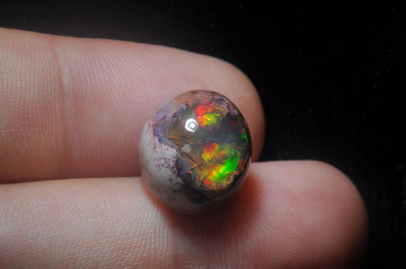 10.57ct Mexican Matrix Cantera Multicoloured Fire Opal
