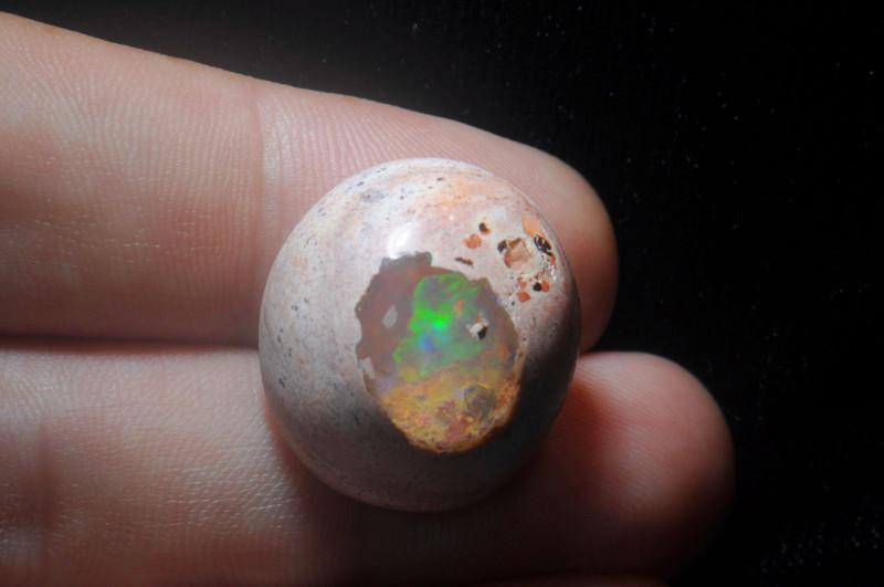 29.70ct Mexican Matrix Cantera Multicoloured Fire Opal