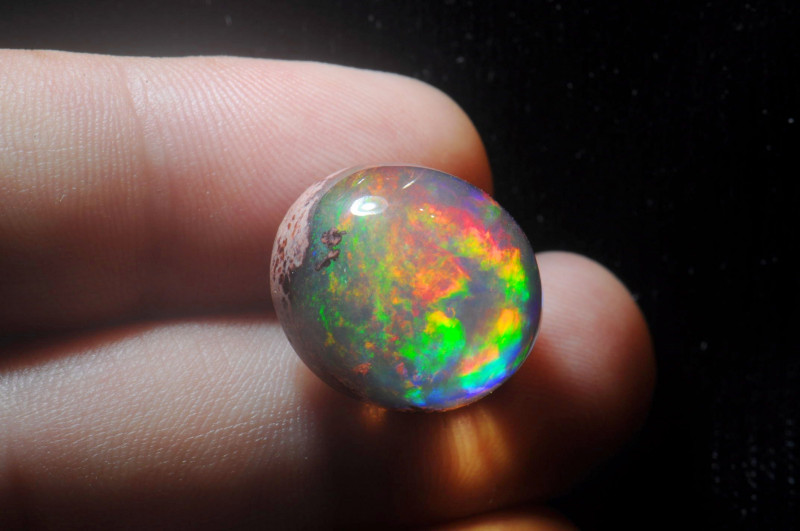 21.06ct Mexican Matrix Cantera Multicoloured Fire Opal