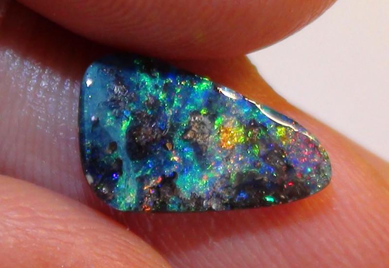 1.75 ct Beautiful Multi Color Queensland Boulder Opal