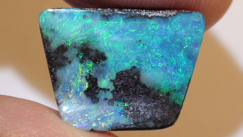 6.60 ct Multi Color Queensland Boulder Opal