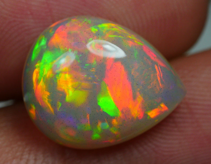 4.95 CRT BEAUTY FIRE FLORAL BROAD STRIPE PLAY COLOR WELO OPAL