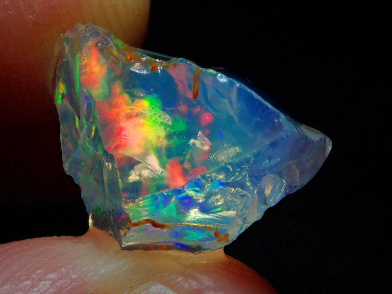 7.27ct Natural Opal Rough Specimen Mexican Fire Opal