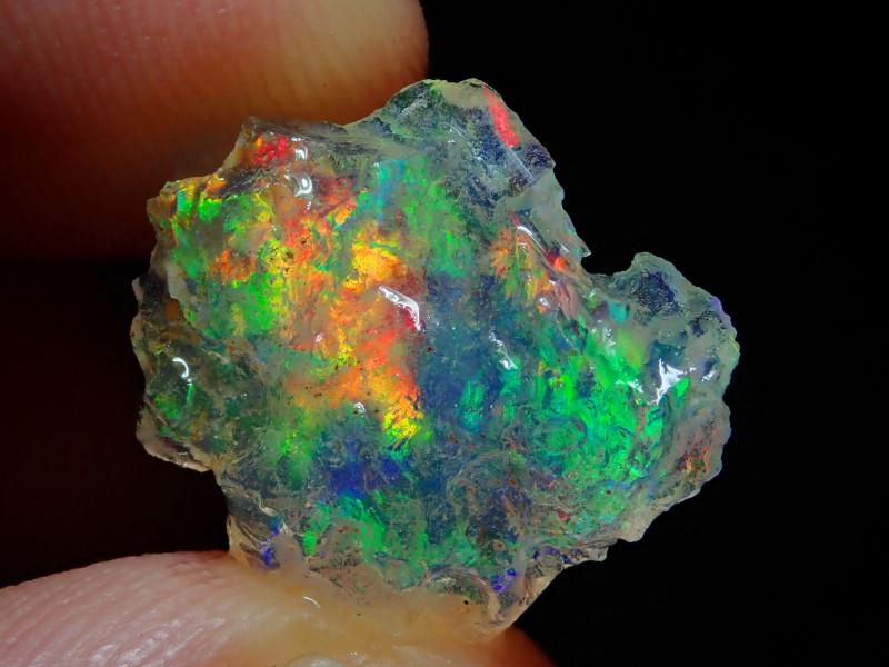4.82ct Natural Opal Rough Specimen Mexican Fire Opal