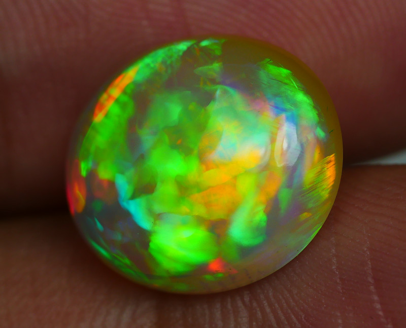 4.80 CRT WONDERFULL HOLOGRAM FLORAL PLAY COLOR WELO OPAL
