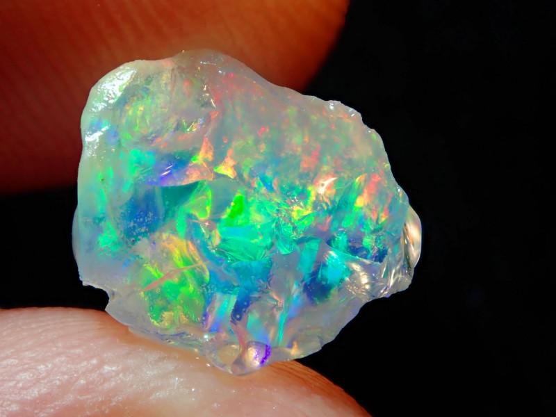2.88ct Natural Opal Rough Mexican Fire Opal