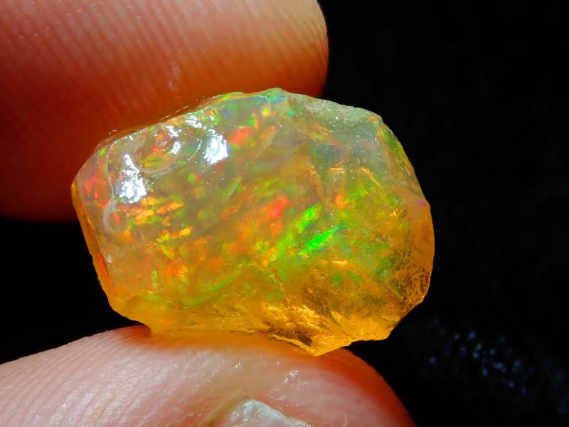 5.85ct Natural Opal Rough Mexican Fire Opal