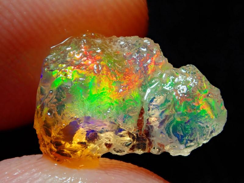 3.06ct Natural Opal Rough Mexican Fire Opal