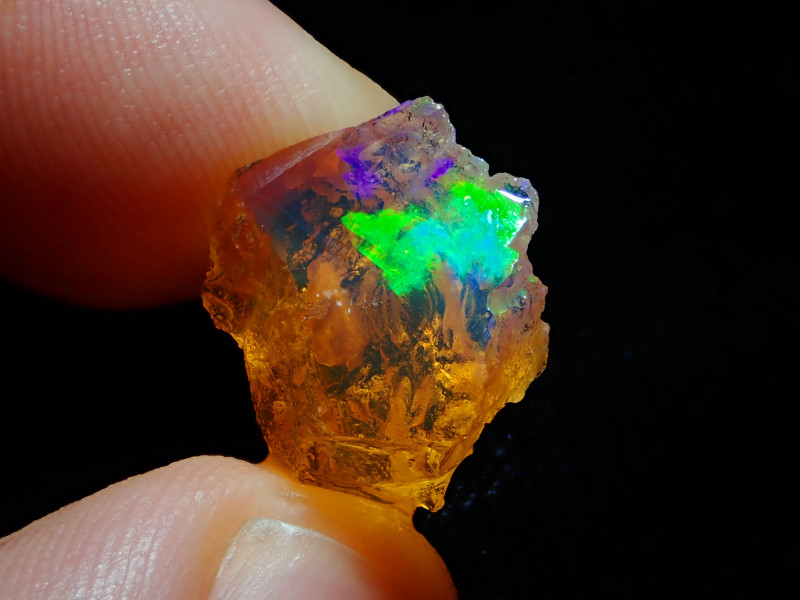 8.53ct Natural Opal Rough Mexican Fire Opal