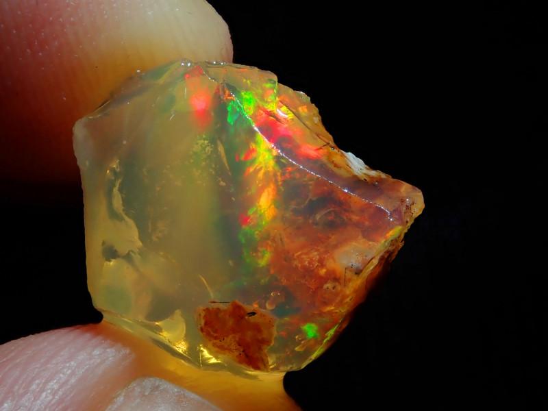 9.34ct Natural Opal Rough Mexican Fire Opal