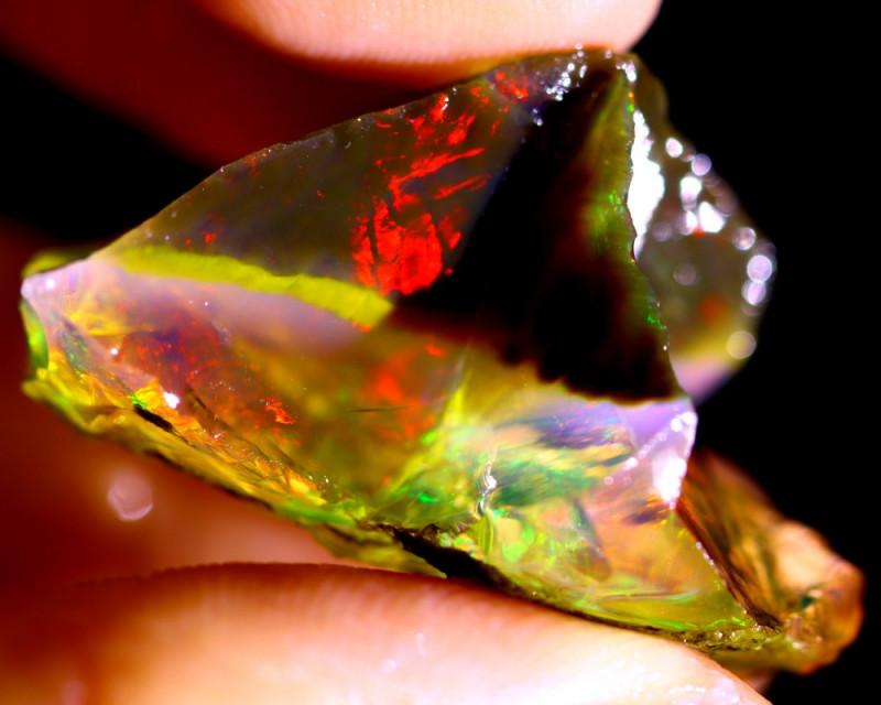 46cts Ethiopian Crystal Rough Specimen Rough / CR601