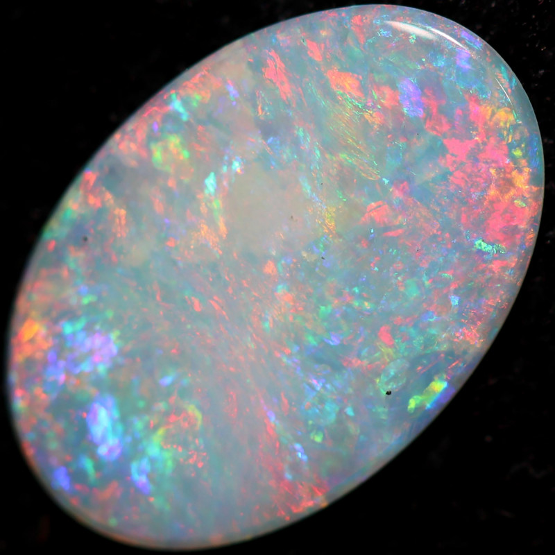 1.06 CTS SOLID WHITE CLIFFS OPAL-POLISHED[SEDA3043]