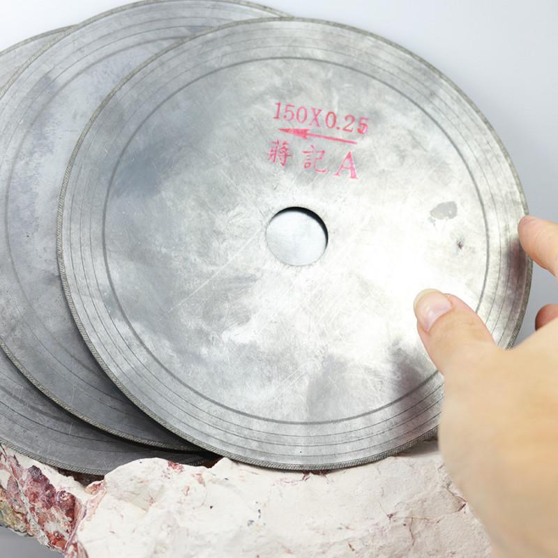Three 150 mm or 6 inch 0.25 saw Blades WS 1831