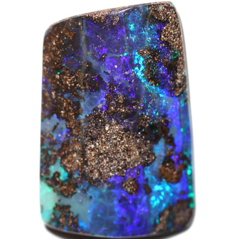 73.00 cts Dark based  Quilpie Boulder opal MMR 2372