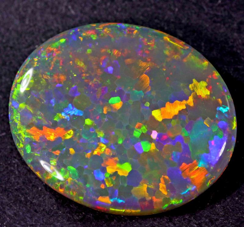 7.80 CTS  BLACK OPAL FROM LR -